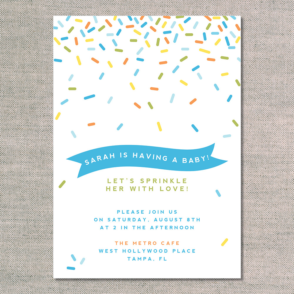 baby shower invitations sprinkle shower stationery baby shower