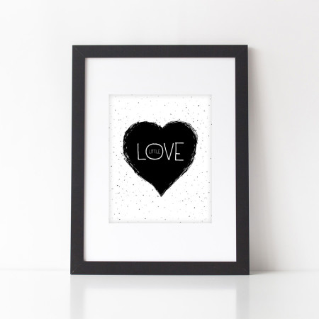 wall prints: little love
