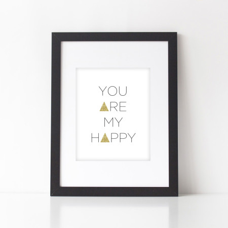 wall prints: my happy