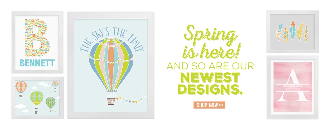our newest designs are here: spring 2016 collection