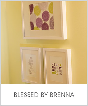 little but fierce, you are amazing, scribble circles: as seen in blessed by brenna