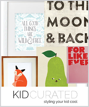 wild & free: as seen in kid curated best of wall prints