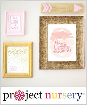 nursery prints: as seen in project nursery