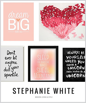dream big little one: as seen in stephanie white style