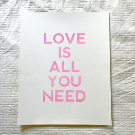 flash sale: love is all you need