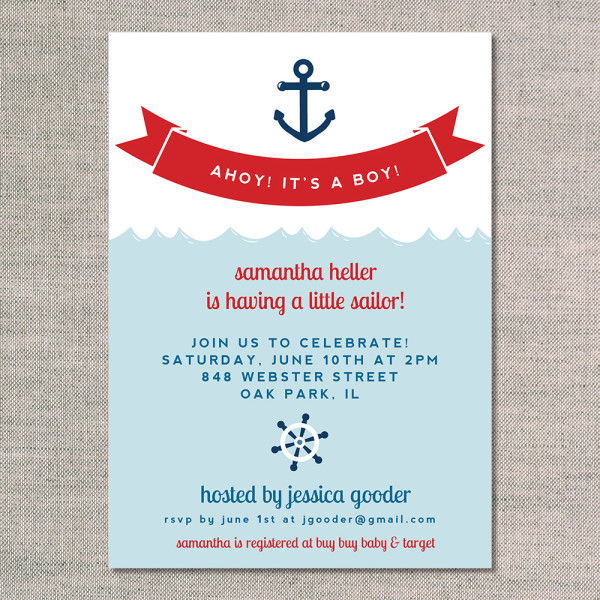 nautical instant its package shop yellow baby blue navy ahoy invitation and printable shower a invitations boy sailboat download