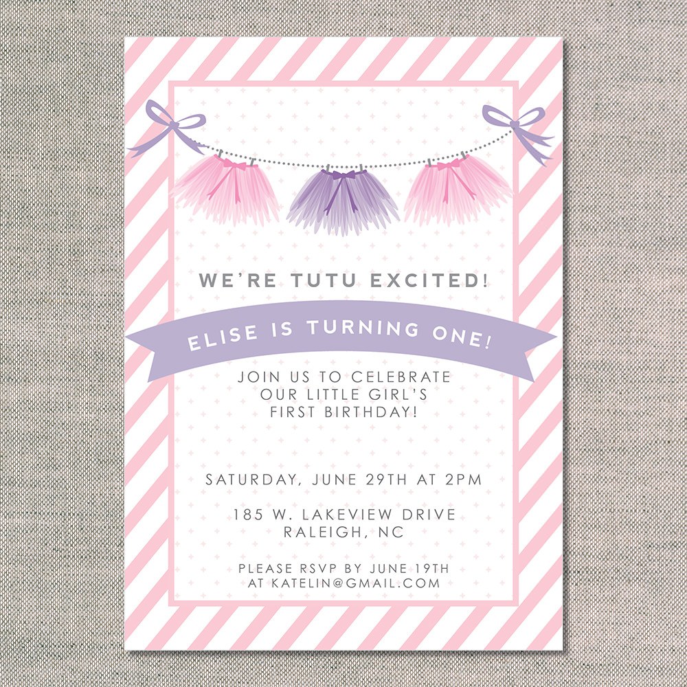 Tutu Invitations For Baby Shower was great invitations ideas