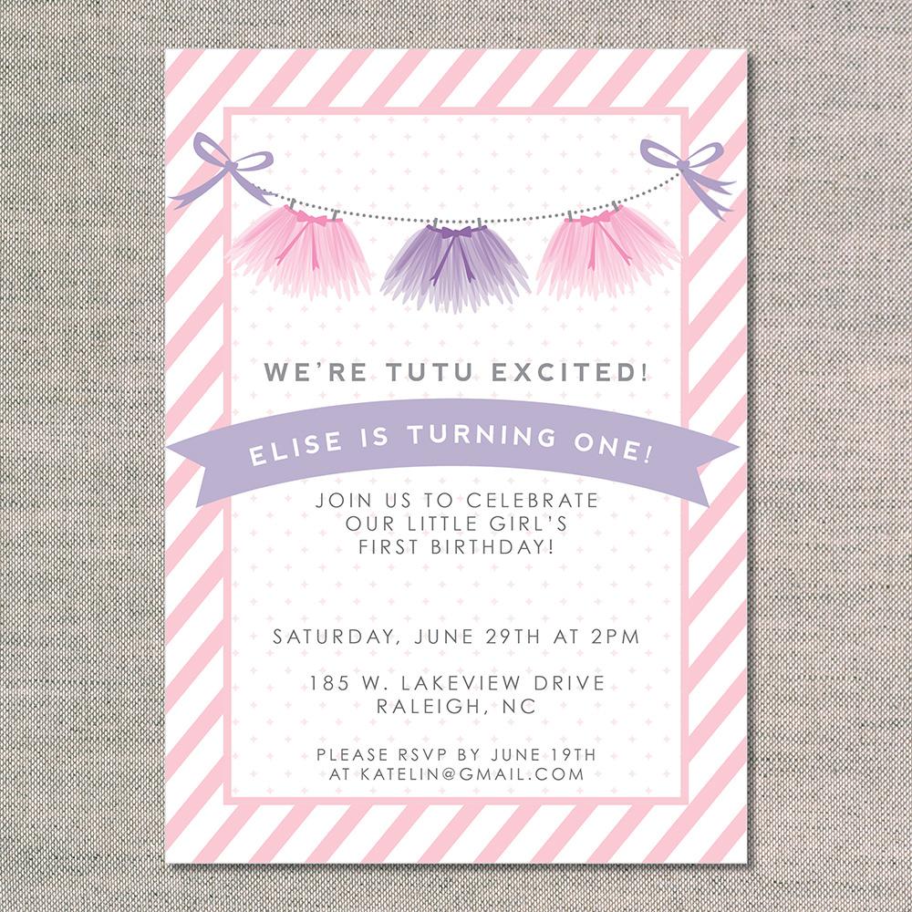 tutu baby shower invitation pink tutu 10 printed invitations memes